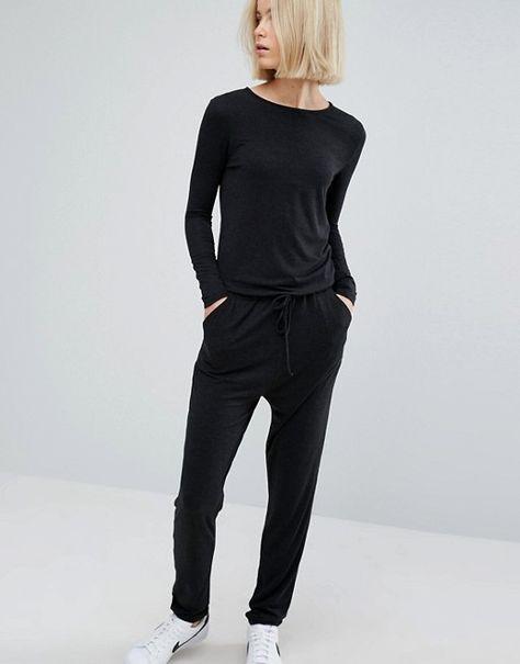 662fa054785 Moss Copenhagen Long Sleeve Casual Jumpsuit