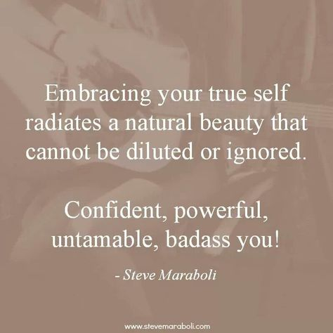 Embrace yourself!