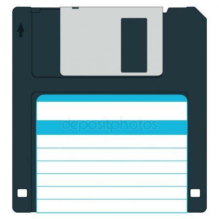 Diskette Stock Vector Affiliate Diskette Stock Vector Ad Stock Illustration Floppy Disk Stock Vector