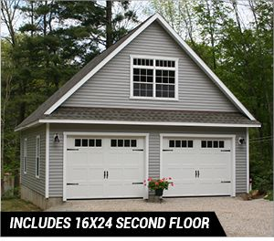 3 Car Garage For Sale Three Car Detached Garage Multi Car Storage Best Garage Doors Garage Exterior Garage Door Design