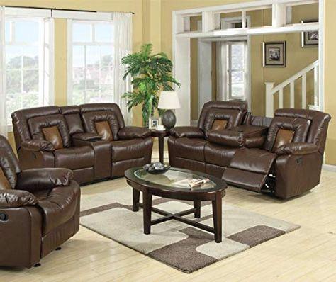 Buy Gtu Furniture Cobra Pu Leather Reclining Sofa Loveseat Recliner Set Luxurious Living Room Furniture Sofa Loveseat Brown Online Living Room Sets Sofa Loveseat Set Leather Sofa Loveseat