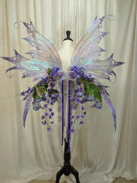 Your place to buy and sell all things handmade Fairy Costume Diy, Fairy Wings Costume, Fairy Cosplay, Fairy Costumes, Diy Wings, Diy Fairy Wings, Cosplay Costumes, Halloween Costumes, Fantasy Gowns