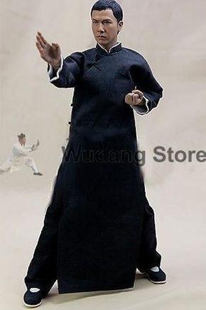 100 Wool Traditional Long Ip Man Wing Chun Coat For Men Ip Man Wing Chun Martial Arts