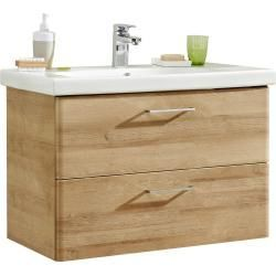 Xora Waschtischkombi Sanitarkeramik Braun Keramik 1 Schubladen 82x56x45 Cm Xoraxora 82x56x45 Braun In 2020 Christmas Bathroom Decor Wash Basin Bathroom Cupboards