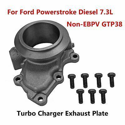 99.5-03 Ford 7.3 7.3L Powerstroke Diesel EBV Delete Turbo Pedestal /& Housing
