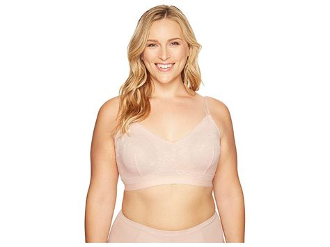 a796de87ffe Spanx Plus Size Spotlight On Lace Bralette (Vintage Rose) Women s Bra.  Nothing to hide! Spotlight on Lace is lingerie that s more than just a pretty  base!