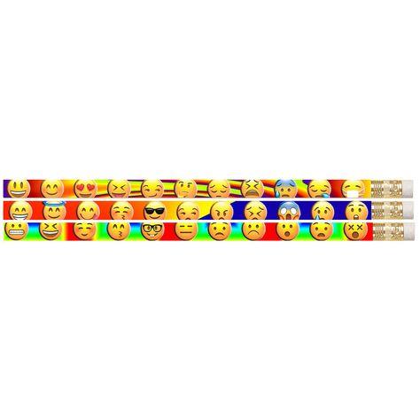 144 Pack Emojis Etc Pencils