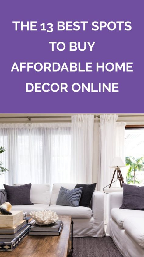 The 13 Best Places To Buy Cheap Home Decor Online