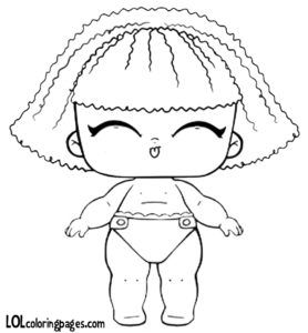 Lil Pranksta Series 3 Wave 1 Lol Surprise Dolls Coloring Page