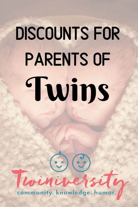 Find all the best freebies and discounts exclusively for parents of twins and moms going through a twin pregnancy.