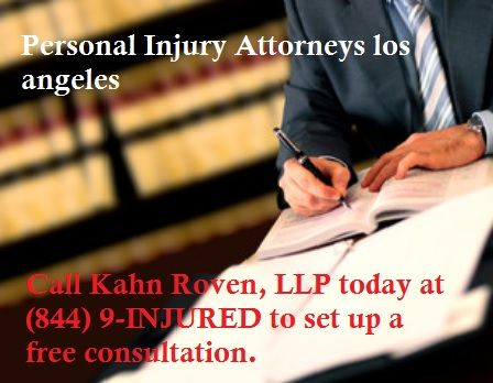 For Over Three Decades Kahn Roven Llp Has Been Successfully