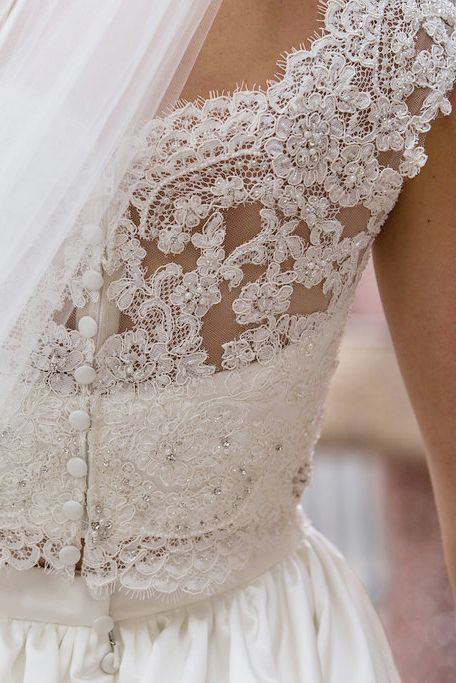 Two Piece Wedding Dress By Casablanca Bridal Up Close With Style