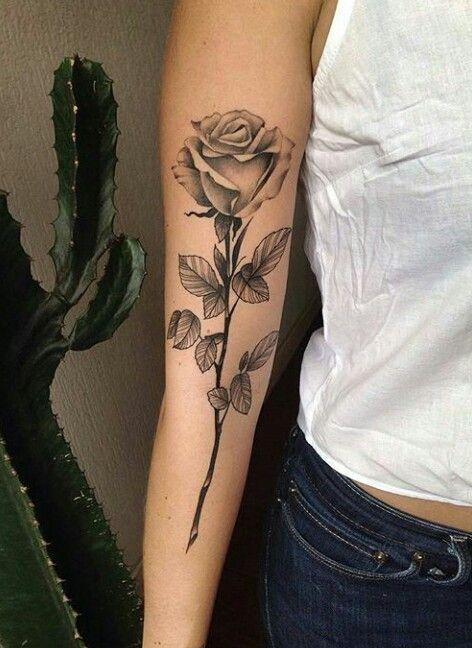 Pin By Arianna Shapiro On Tattoo Single Rose Tattoos Elegant Tattoos Rose Tattoos
