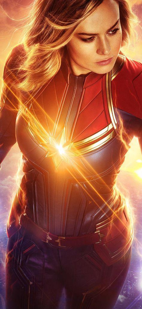Captain Marvel Real 3D Poster Wallpapers   hdqwalls.com