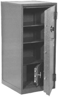 Gardall Z 3018 Combination Security Fire Burglary Chest Tall