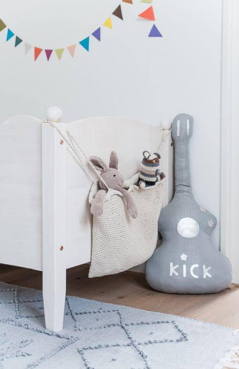Knit stuffies sack