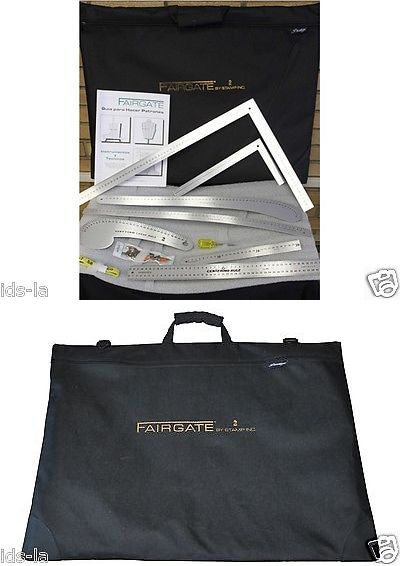 Details About Fairgate 15 200 Fashion Designer S Carry All Aluminum Rulers Metric Camisa