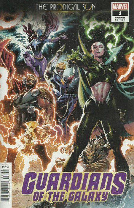 Guardians Of The Galaxy Prodigal Sun Issue 1b Marvel Comics