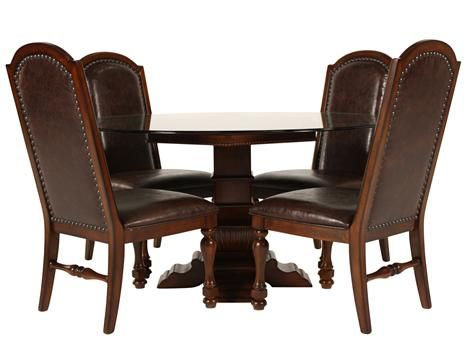 FD 47514/5PCSET   Fairmont Designs Costa Mesa Round Dining Set | Mathis  Brothers Furniture | Home Decor | Pinterest | Round Dining Set, Round Dining  And ... Part 36