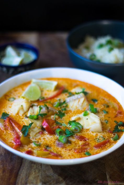 Moqueca Recipe (Brazilian Fish Stew with Coconut and Tomato)