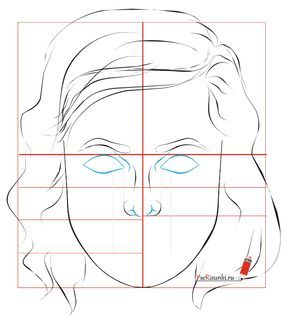 Kak Narisovat Portret Karandashom Poetapno Face Drawing Face Art Body Sketches