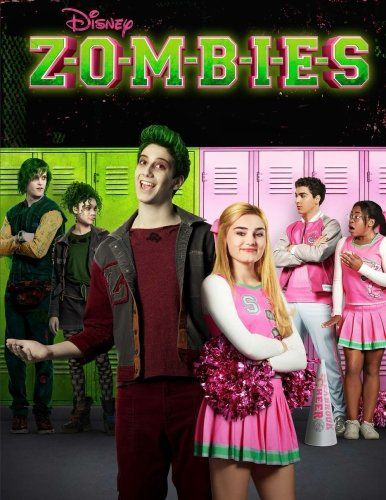 Download Pdf Zombies Coloring Book With High Quality Exclusive Images By Disney Film 2018 Volume 2 Zombies Zombie Disney Disney Channel Disney Channel Shows