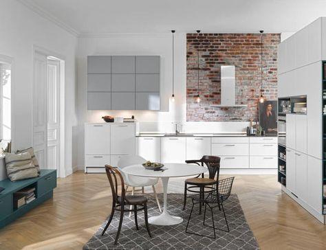 Moderne Küchen Altbau-Stil Nolte Küchen küche Pinterest
