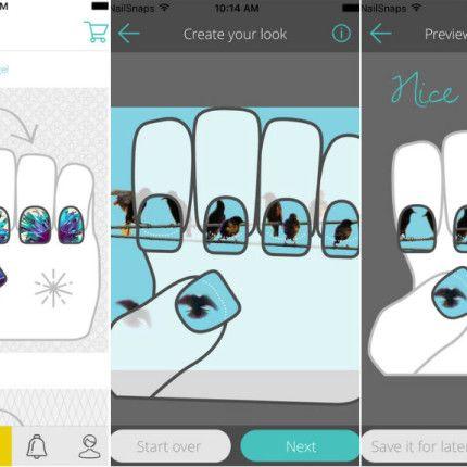 Scelto da Glamour: l\'app che trasforma le tue foto in unghie adesive