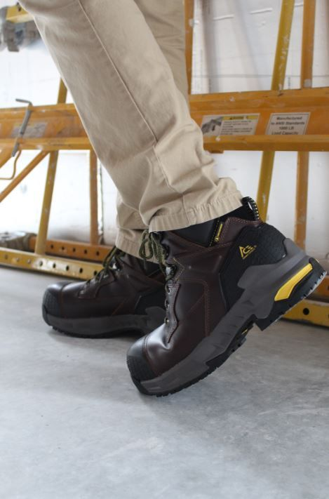 16515998773 Redrock - 6 inch Composite Toe - Black | ACE Work Boots™ - Born to ...