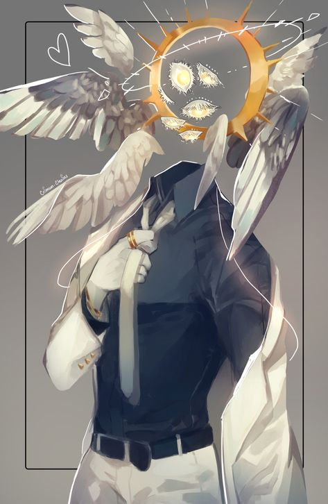 Definitely not a demon. Male Character, Fantasy Character Design, Character Design Inspiration, Character Concept, Concept Art, Fantasy Characters, Anime Characters, Dark Fantasy Art, Angel Art