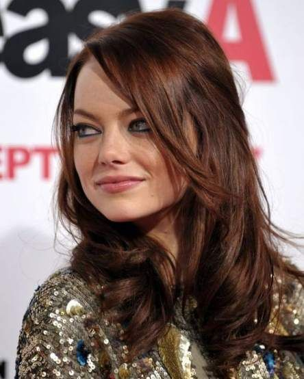 Amber Brown Hair Color Pictures