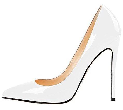 MONICOCO Women's Stiletto Heel Plus Size Shoes Pointed Toe