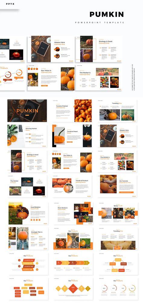 Pumpkin Powerpoint Presentation Template