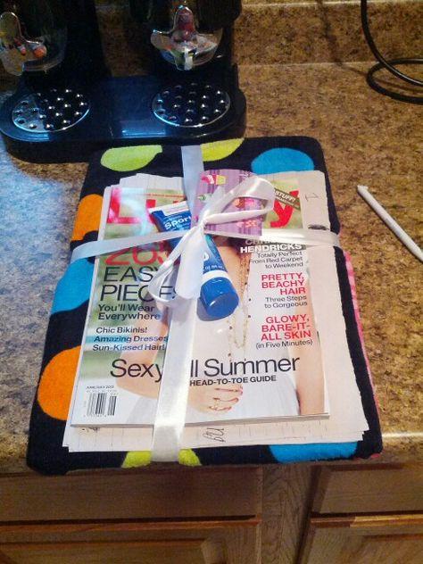 End of year teacher gift.  So easy!