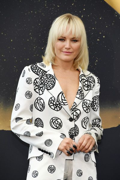 Malin Akerman from 'Billions' attends a photocall during the 57th Monte Carlo TV Festival.