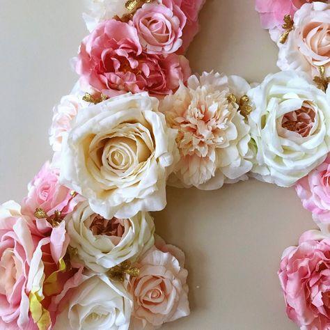 Fiori 5 Lettere.Lettere Grandi Floreale Lettera Matrimonio Di Fiori Decorazioni