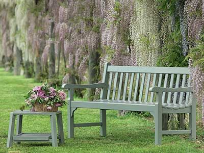 Salon De Jardin Mobilier De Jardin Italien Ethimo En 2020 Bancs De Jardin En Bois Banc Jardin Mobilier Jardin