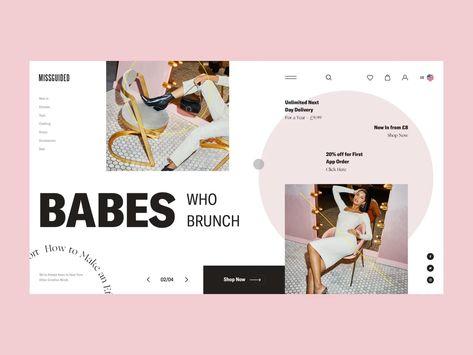 Ecommerce Website Design | Web Design Inspirations