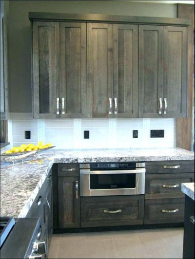 Grey Gel Stain Over Oak Cabinets Kitchen Cabinets Decor Stained Kitchen Cabinets Painted Kitchen Cabinets Colors