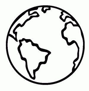 Planeta Siterra Para Colorear 300x305 Gif 300 305 La Tierra