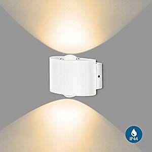 FUSSEN Lampada da A Parete LED per Interni/Esterni Moderna ...
