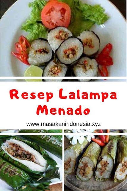 Resep Lalampa Resep Masakan Indonesia Kota Manado Resep