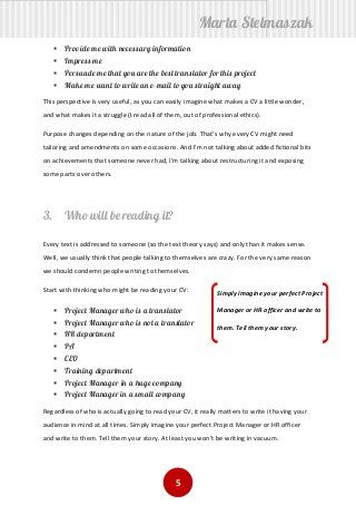 How To Write A Translator S Cv Curriculums
