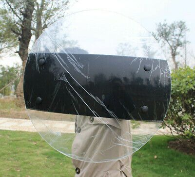 Police Anti-Riot Shield Protection Security Equipment for Tactical CS