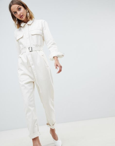 At last, denim weather has returned and we're safely back in our jeans. There's more to denim dressing than just your favorite pair of skinnies though, so why not try something a little different? From skirts and dresses to jumpsuits and jackets, we've picked our top 10 standout pieces to take your denim up a notch.