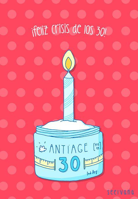 Diseño de tarjetita para cumpleaños de 30. #compartirvideos #felizcumpleaños