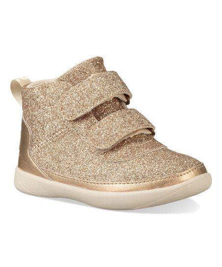 5e775d899ef UGG® Gold T-Pritchard Sparkles Hi-Top Sneaker - Girls | zulily ...