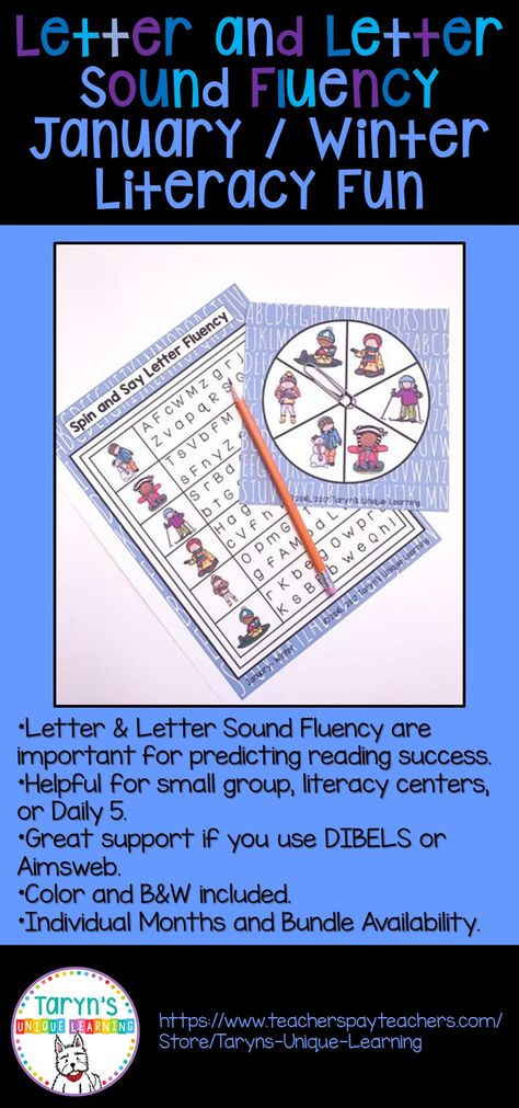 Early Letter Recognition And Successful Reading