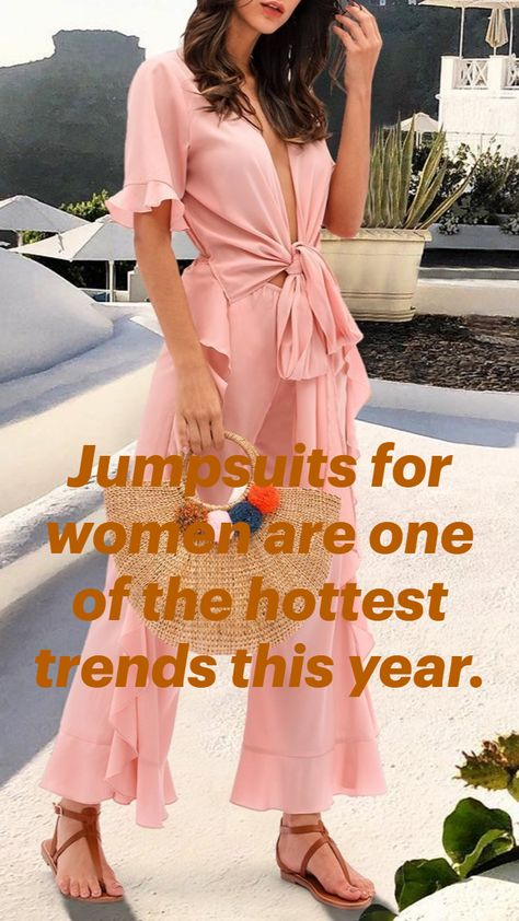 Jumpsuits for women are one of the hottest trends this year.