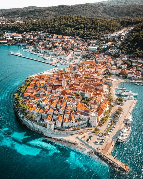 37 of the most beautiful cities in Europe - Vogue Australia Dream Vacations, Vacation Spots, Voyage Europe, Beautiful Places To Travel, Most Beautiful Cities, Croatia Travel, Dubrovnik, Rovinj Croatia, Travel Aesthetic